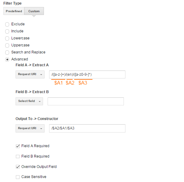 Regex Guide For Google Analytics And Tag Manager Digital Marketing